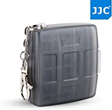 JJC 4+4 Slots Memory Card Game Card Case for 4 X Game Card (Sony Playstation Vita : COD Black Ops, Final Fantasy X|X, Sonic & All-Stars Racing,Uncharted Golden Abyss, FIFA 15)+ 4 MSD Card,Grey
