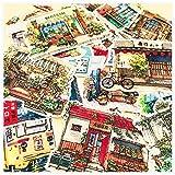 TTBH Retro Conner Store Sticker DIY Craft Scrapbooking Album Journal Happy Planner Decorativo Stickers21Pcs / Set
