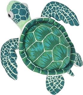 Wild Republic Sea Turtle Plush, Stuffed Animal, Plush Toy, Gifts for Kids, Cuddlekins, Green 12 Inches