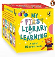 My First Library of Learning: Box set, Complete collection of 10 early learning board books for super kids, 0 to 3 |...