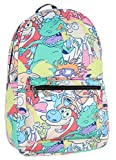 Nickelodeon 90s Shows Cartoon Characters Ren And Stimpy Backpack