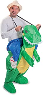 Funtime Gifts PT8300 Inflatable T-Rex Dinosaur Costume, Unisex-Adult, One Size