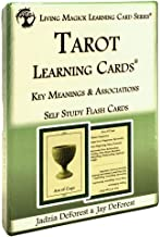 Tarot Learning Cards ~ 2nd Edition - Living Magick (Living Magick Learning Cards) by Jadzia DeForest & Jay DeForest (2013-...