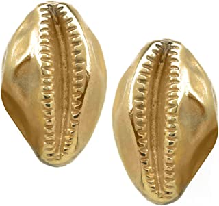 Sale - Reproduction of the Egyptian Cowrie Shell CLIP Earrings, From Our Museum Store