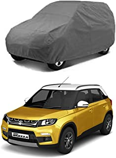 UTTU 2 X 2 Grey Matty Waterproof Car Cover for Brezza