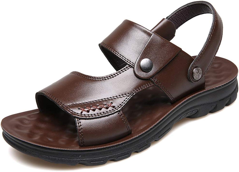 Sports & Outdoor Sandals Sandals Open Toe Outdoor Beach Slippers Casual Walking Fishing Sandals Summer Men's Home Sandals PU Rubber Non-Slip Sandals