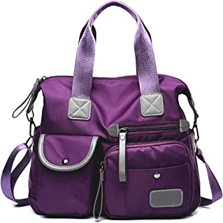 Arateck Portable Travel Shoulder Bag Zipper Nylon for Women Mobile Phone Cosmetic