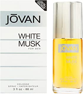 Jovan White Musk Eau de Cologne for Men, 88ml