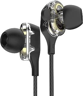 Beexcellent イヤホン 有線 ハイレゾ イヤフォン 高音質 マイク付 リモコン付 デュアルドライバー構造 通話可能 カナル型 GM-901