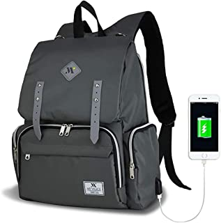 b624b938cdaee My Valice Smart Bag Mother Star Usb'li Anne Bebek Bakım ve Sırt Çantası Gri