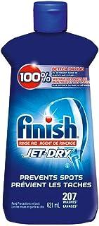 Finish Jet-Dry Rinse Aid, Original, 621ml, Dishwasher Rinse Agent & Drying Agent