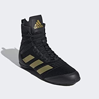 2021 Speedex 18 Adult Boxing Training Shoes - Black and Gold FX0564
