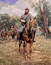 Bradley Schmehl STONEWALL JACKSON Signed & Numbered Artist Proof w/coa Civil War Paper Lithograph
