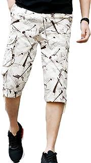Coolred Mens Multi Pocket Capri Long Shorts Casual Work Cargo Short