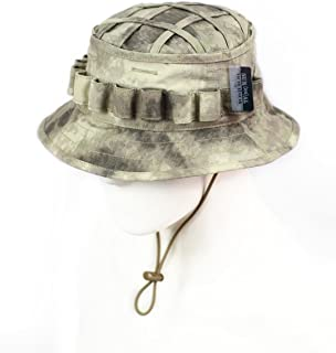 ZAPT Boonie Hat Military Camo Cap Hunter Sniper Ghillie Bucket Hats Adjustable Jungle Bush Hat