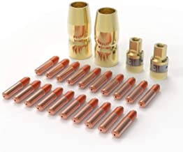 """MIG Welding Gun Accessory Kit .030"""" Tip-Nozzle-Diffusers for Miller Millermatic M-100/150 Hobart H-9/10 YESWELDER"""