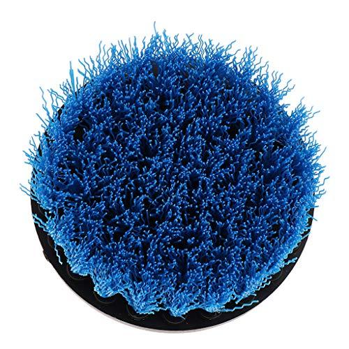 Fenteer Cepillo Eléctrico Cepillo de Limpieza para Azulejos de Ducha Lavabos de Baño Manchas de Agua Dura