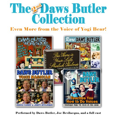 The 2nd Daws Butler Collection audiobook cover art