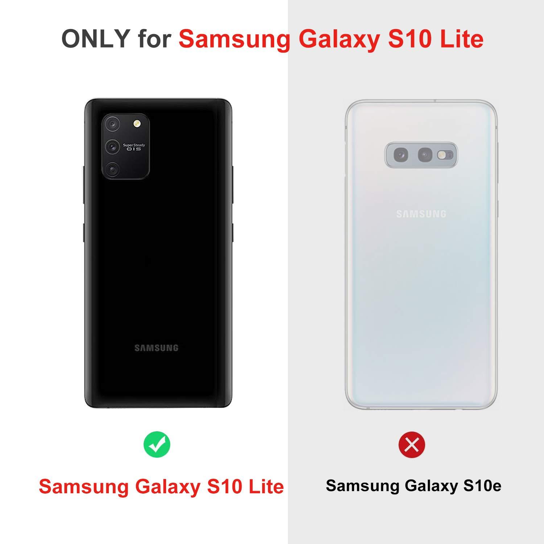 GEEMAI Diseño para Samsung Galaxy S10 Lite Protectora Funda,con ...