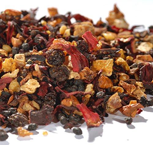 Quertee® - Früchtetee - Weihnachtspunsch - Mit Zimt-Rum-Mandel-Geschmack - 250 g