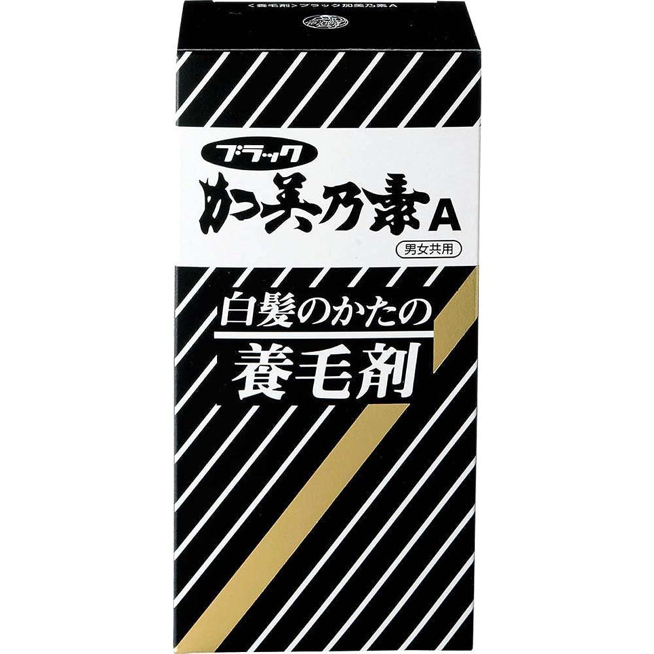 男やもめ蓋銛ブラック加美乃素A グリーンフローラルの香り 143mL 【医薬部外品】