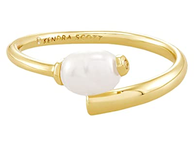 Kendra Scott Demi Wrap Ring (Gold Baroque Pearl) Ring
