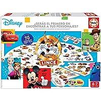 Educa-El Lince con 70 imágenes de Personajes Disney, a Partir de 4 años (18351)