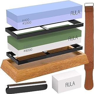 RULA 研ぎ石 包丁 砥石台 両面砥石 包丁 砥石 面直し 刀の皮をとぐ 番400 1000 3000 8000