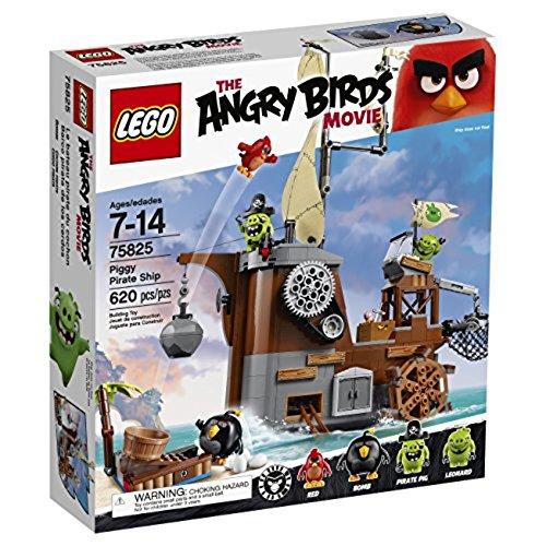 LEGO Angry Birds Barco Pirata de los Cerdos - Juegos de construcción...