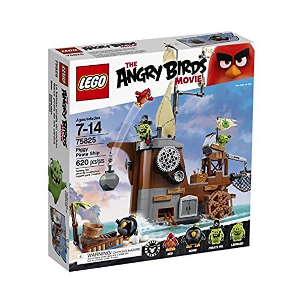 LEGO Angry Birds 75825 Piggy Pirate Ship Building Kit (620 Piece) 3