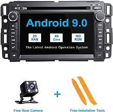 TOOPAI Android 9.0 AutoRadio Car Multimedia Player Stereo GPS DVD for Chevrolet GMC Hummer Yukon Denali Acadia Buick Suburban TahoeExpress