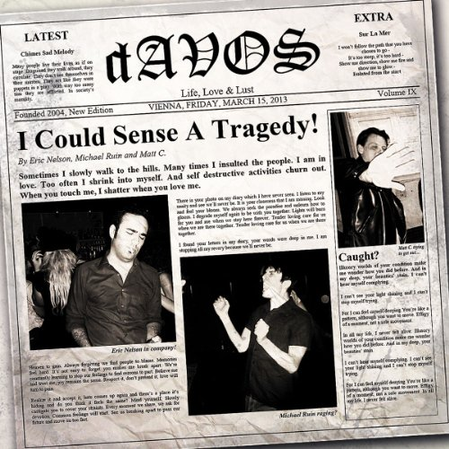 I Could Sense a Tragedy! (12'' Vinyl)...