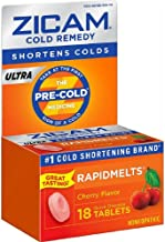 Zicam Ultra Cold Remedy Rapidmelts Tablets Cherry - 18 Count, 3 Pack