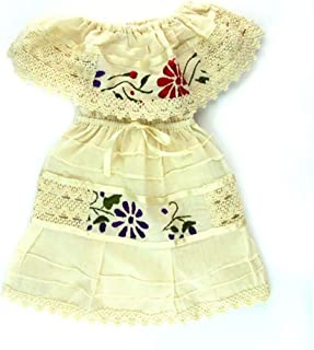 Mexican Infant Dress offwhite Size 0 Dress Day of The Dead Coco Theme Party Halloween Party