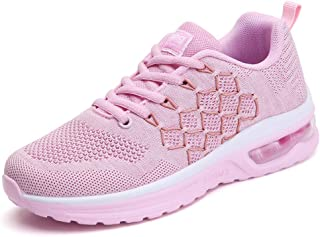 TSIODFO Women's Running Shoes Breathable Air Cushion Sneakers