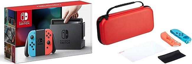 Console Nintendo Switch avec Joy-Con - Néon + Kit de protection [Importación francesa]