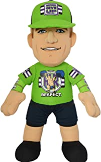 "Bleacher Creatures WWE John Cena Respect 10"" Plush Figure- A Wrestling Superstar for Play or Display"