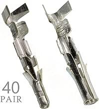 Molex Pin, Male & Female .093