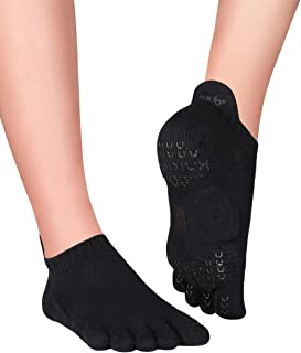 Plus Sora Calcetines Antideslizantes de Yoga y Pilates