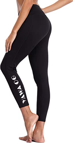 Eono Essentials Wohommes Printed Yoga Pants (noir  1, grand)