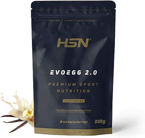 Proteína de Huevo de HSN Evoegg 2.0   100% Albúmina de Huevo en Polvo   Egg Protein   Para personas intolerantes a la lactosa y ovo-lactovegetarianos ...