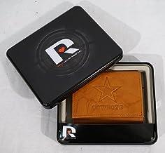 محفظة جلدية ثلاثية الطيات بتصميم ثلاثي الطيات من ريكو دالاس كاوبويز الدوري الوطني لكرة القدم الأمريكية