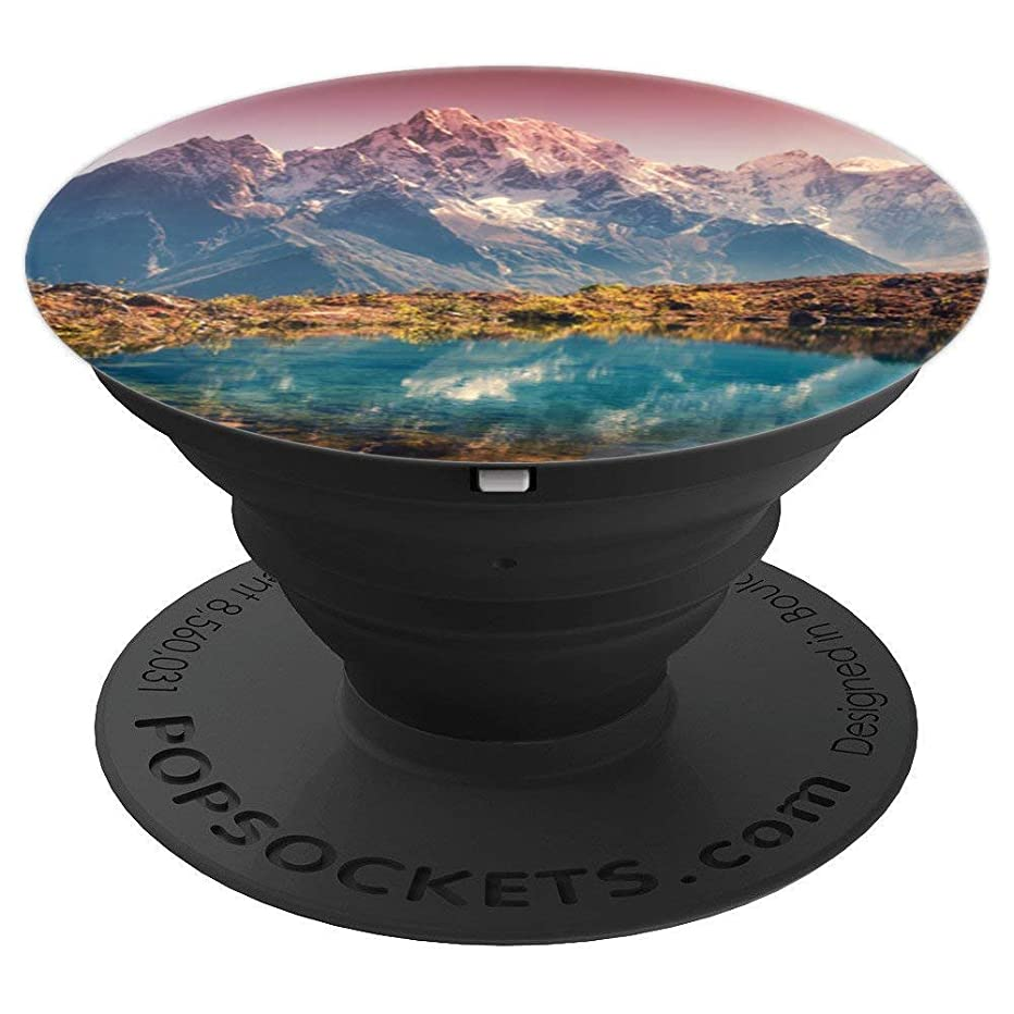 Beautiful Mountain & Lake Scenery Photo PACJ0677 - PopSockets Grip and Stand for Phones and Tablets