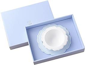 Reale(レアーレ) 小皿&ボール シェフセット 転倒防止吸盤付き (ブルー)