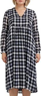 Fiorella Rubino : Vestito Lungo Checks (Italian Plus Size)