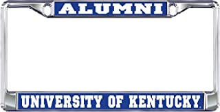University of Kentucky Alumni Wildcats Silver Metal License Plate Frame