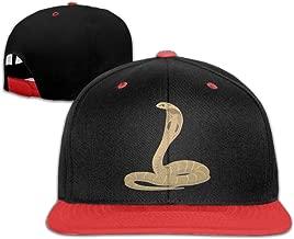 Hip Hop Caps King Cobra Snake Cotton Hats Adjustable Unisex Baseball Cap