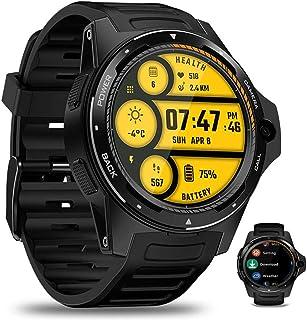 APCHY Smart Watch Reloj Inteligente,4G Monitores De Actividad De 2 + 16G Moda Verde Transfronteriza Dual Sistema Dual Reloj De Ritmo Cardíaco Y Presión Arterial Cronómetro,Reloj De Podómetro