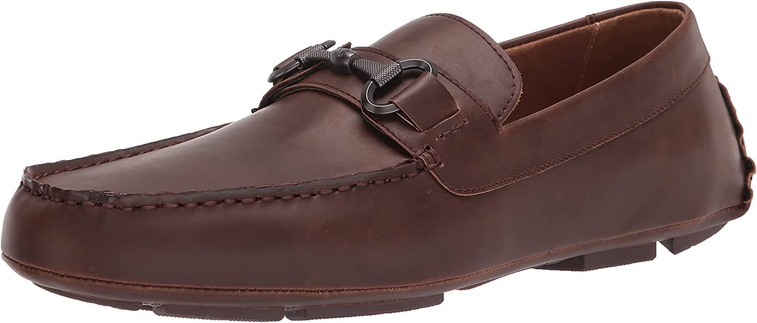 Kenneth Cole REACTION Men's Dawson Driver Espresso Loafer Bit Ranking TOP1 Special price for a limited time