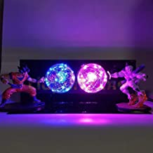 Luminaria LED Night Lights Anime Dragon Ball Z Son Goku VS Freeza Dragon Ball Super Figurine Toy DBZ Led Light Table Lamp
